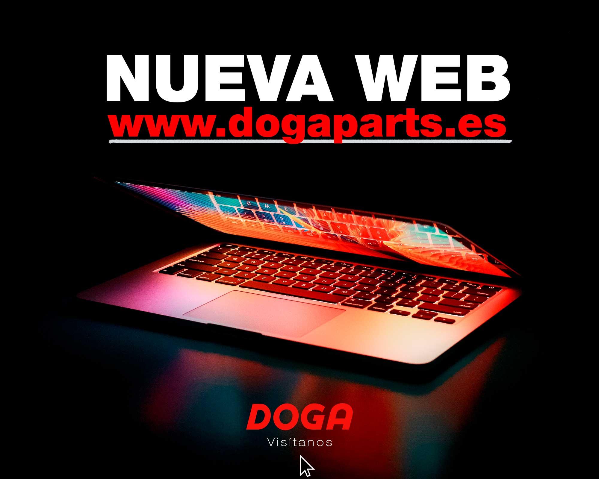 Nueva web www.dogaparts.es